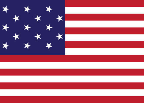 american flag 15 stripes