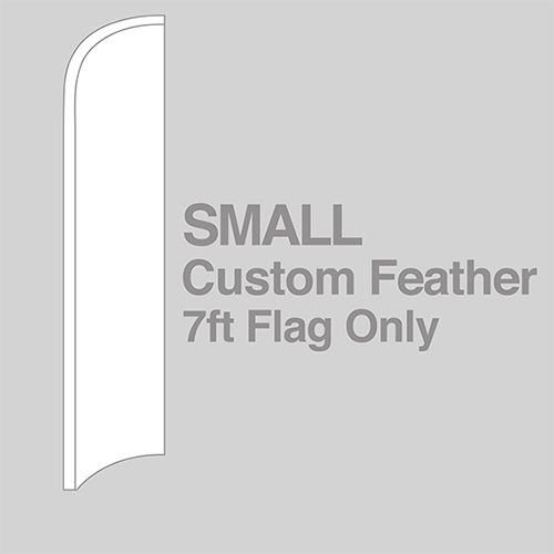 Small Feather Flag Only