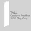 Tall Feather Flag Only