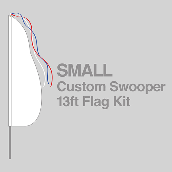 Small Swooper Flag Kit