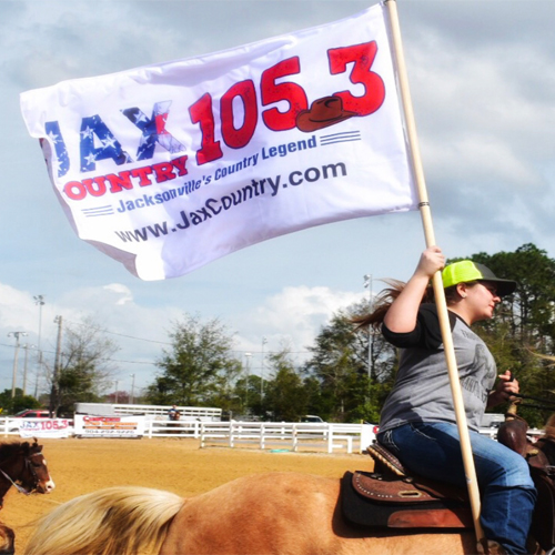 3x5 Double-Sided Rodeo Flag