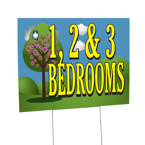 Custom Yard Sign Example 2