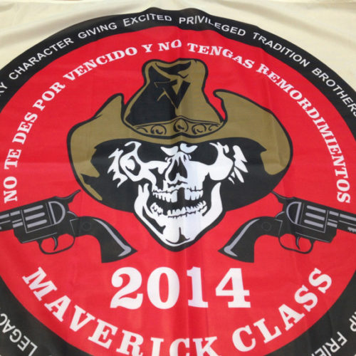 Custom Mavericks Flag