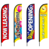 Stock Design Feather Flags